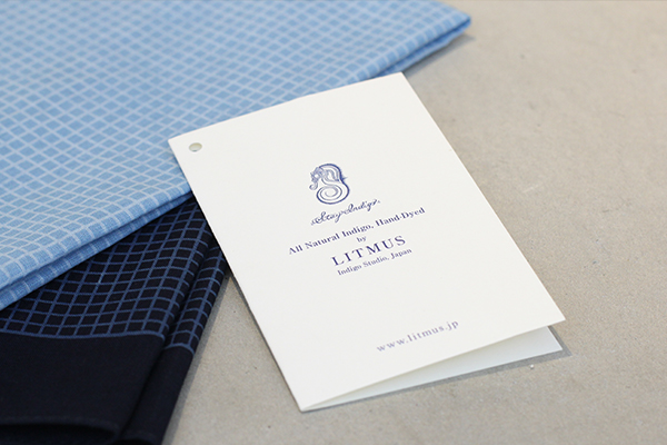 藍染LITMUS(リトマス)× GENERAL SUPPLY