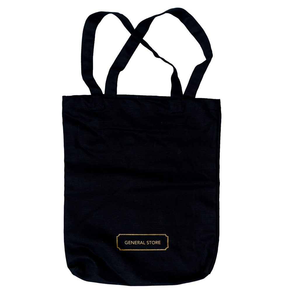 General Store Tote Bag(Black)