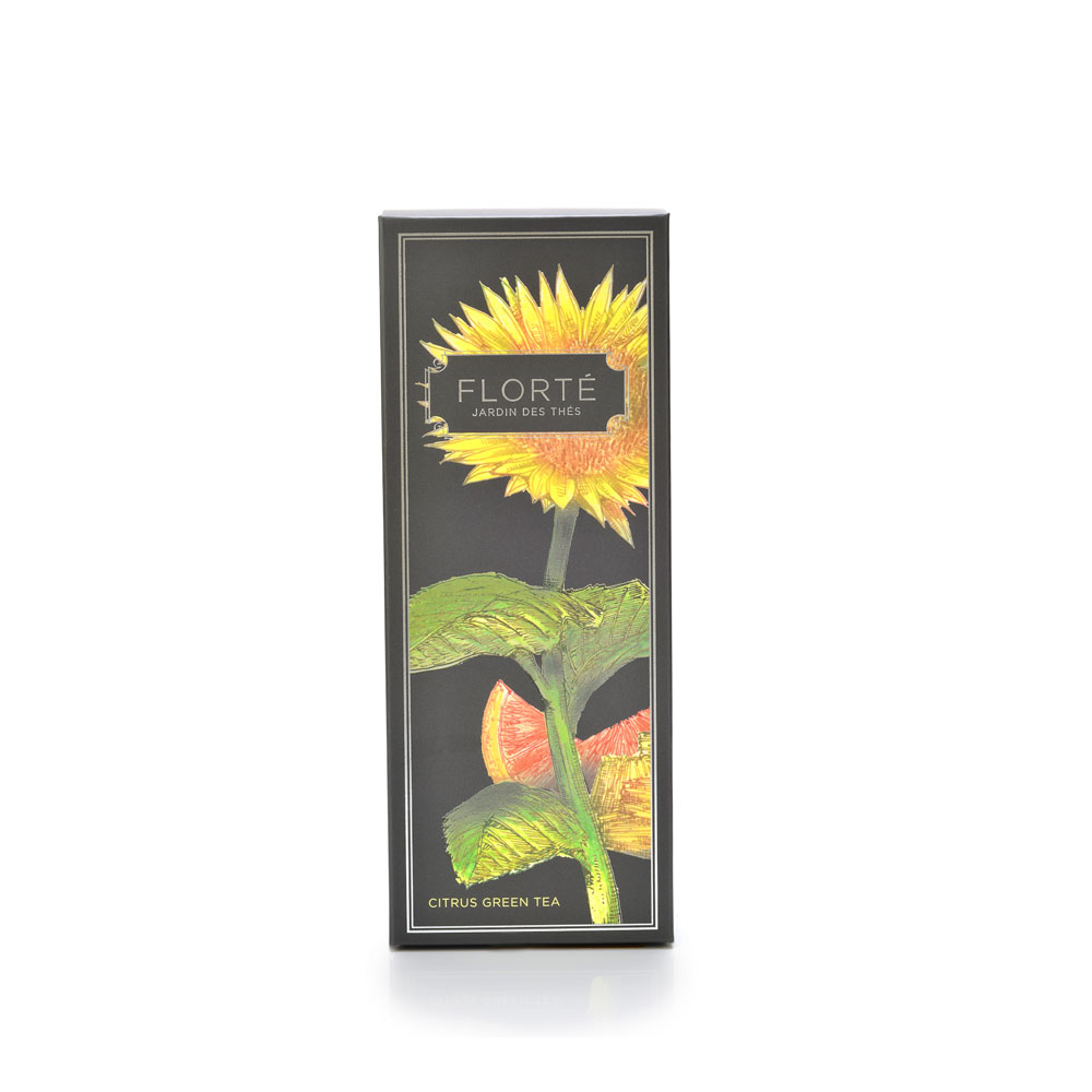 florte tea citrus green tea