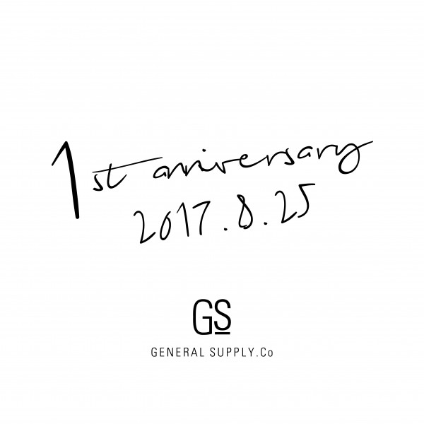 GENERAL SUPPLY <br />1st Anniversary