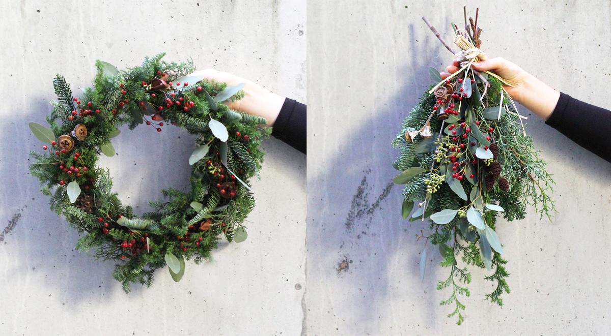 クリスマスリース/スワッグ | GENRAL SUPPLY ワークショップ