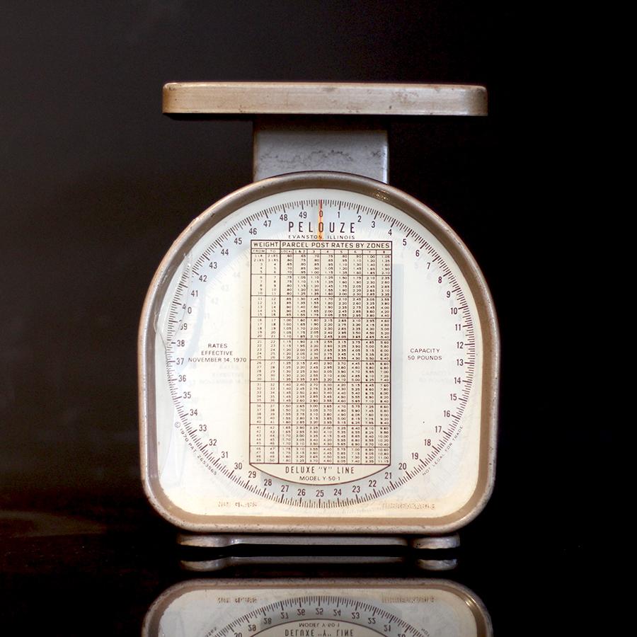 PELOUZE Scale社製アンティークスケール-