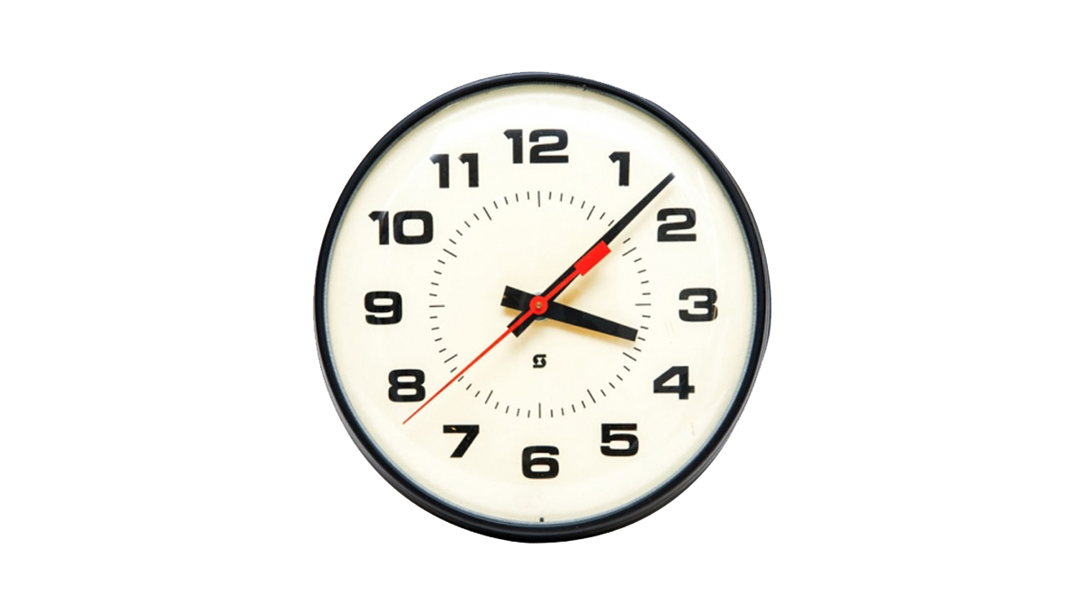 Simplex社 スクール時計 ヴィンテージ School Industrial Simplex Clock