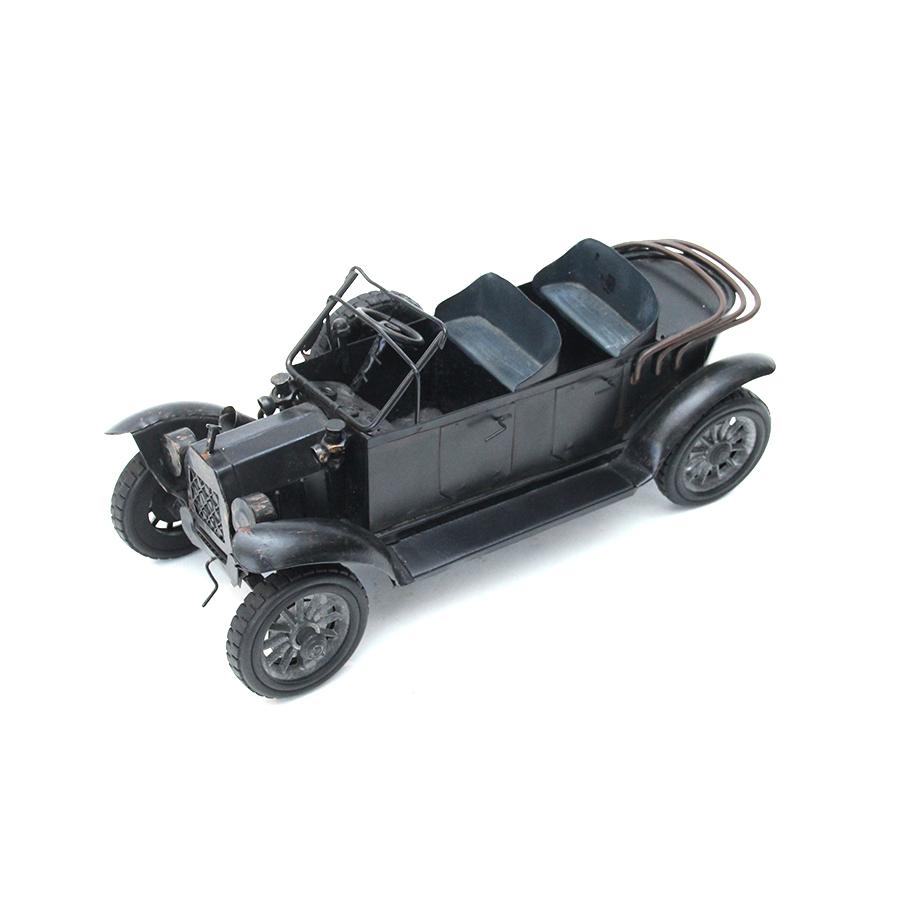 ヴィンテージ ミニカー オフロード 車のオブジェ ブラック