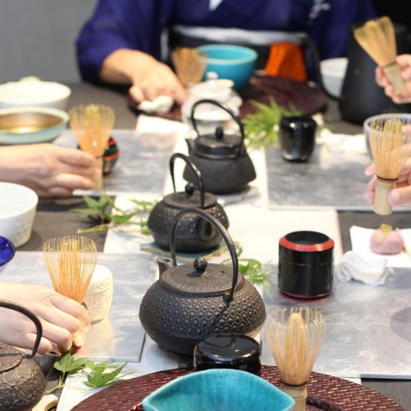 手作り和菓子と気軽に楽しむ茶道講座 <br>終了しました