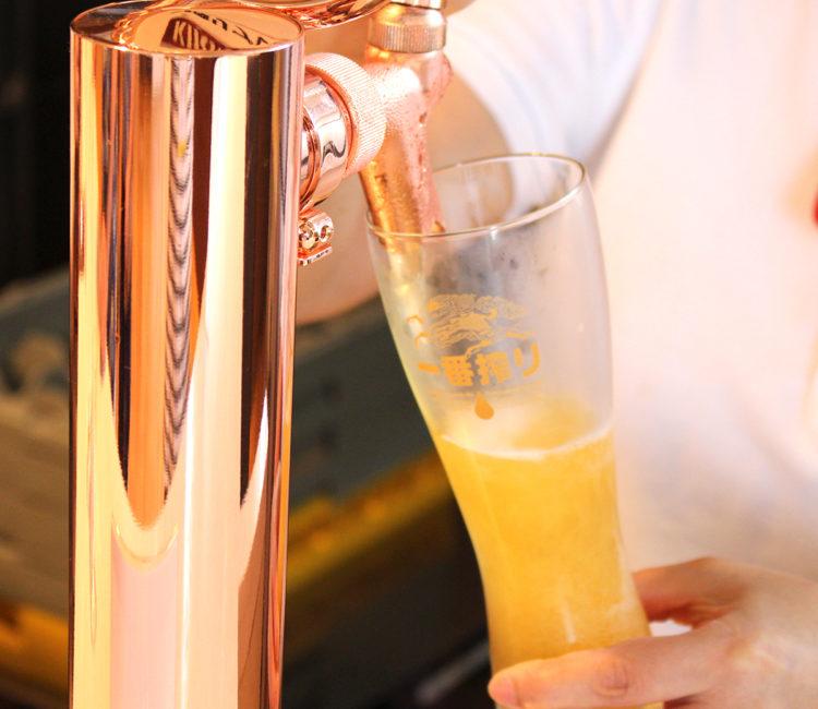 夏といえばビール