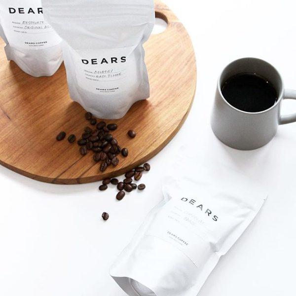 DEARS COFFEE ポップアップ
