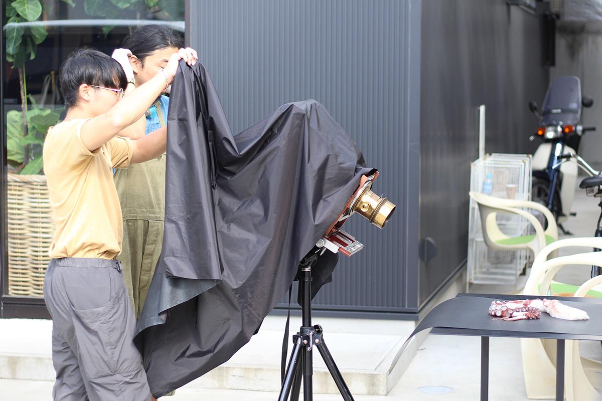 湿板写真ワークショップ