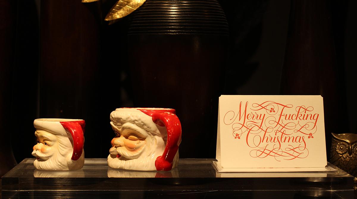 クリスマスを彩る準備 飾りとワークショップ
