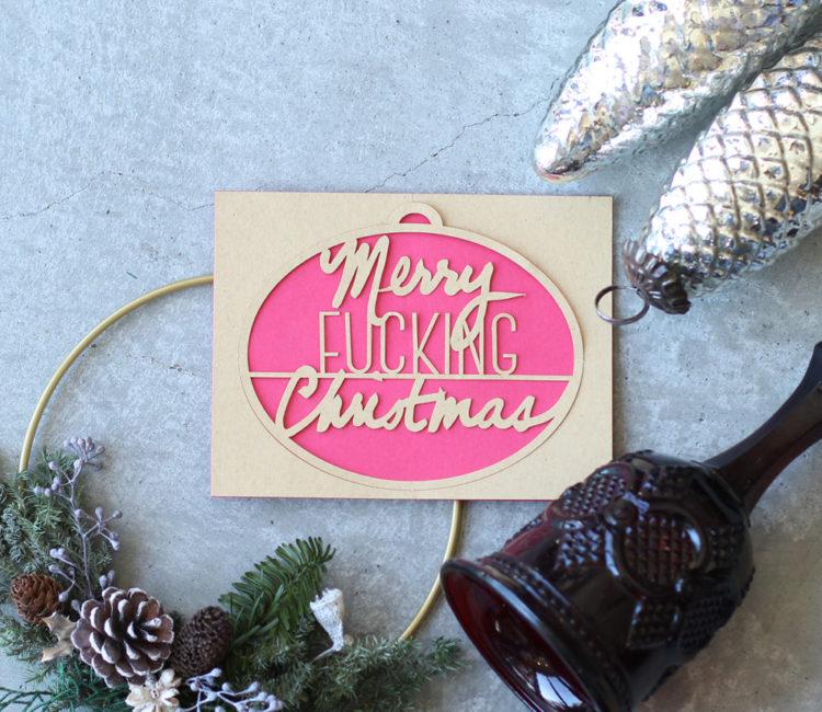 クラシックに飾るクリスマス特集オーナメントやカード
