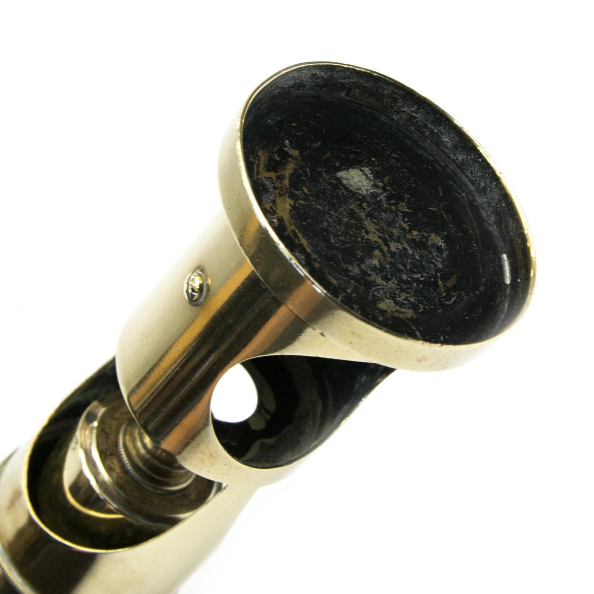 アンティーク 真鍮製 顕微鏡