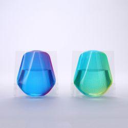 フラワーベースミニ グリーン&ブルー D-BROS